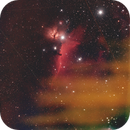 Horsehead and Flame Nebula,                                Philipp Weller