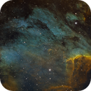 Pelican Nebula (SHO),                                John Renaud