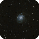 M101 in widefield - Pixinsight and long exposure experiments,                                Ian Dixon