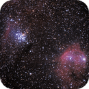 NGC3293 & Gabriela Mistral Nebula (NGC3324)  in Carina,                                Marcelo Alves
