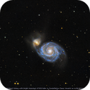 Transient AT2019abn popping up in M51,                                Okke_Dillen