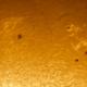 Sunspots 2574,2575,2576 8/11/16,                                Donnie B.