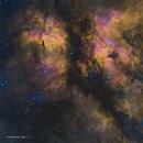 Gamma Cygni nebula east (Sh2-108) in HSOrgb,                                Jose Carballada