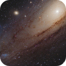M31 - Andromeda Galaxy - A close-up view of the core,                                Victor Van Puyenb...