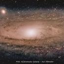M31 - Andromeda Test Mosaic,                                Kai Albrecht