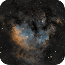 Ced 214/Sh2-171 in Cep in narrowband,                                Benny Colyn