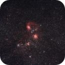 Nébuleuses et amas d'étoiles du Cocher,                                Bernard Pâris