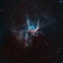 NGC 2359 - Thor's Helmet in HOO,                                Tommy Lease
