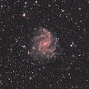 NGC 6946 - Fireworks Galaxy,                                Eric Beckinger