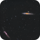 Whale and Hockey Stick Galaxies,                                Chuck's Astrophotography