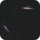 Whale and Hockey Stick Galaxies,                                Chuck's Astrophot...