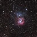 Trifid Nebula,                                Paulo Cacella