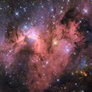 SH2-155 – THE CAVE NEBULA,                                Daniel Nimmervoll