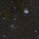 Fireworls Galaxy (NGC6939) and NCG6946,                                Fernando Huet