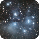 M45 LRGB with Samyang 135 / ASI183MM-Pro,                                Ben