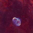 """sectional view of a """"brain"""" - NGC6888,                                Wei Li"""