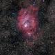 Lagoon Nebula,                                Steffen Boelaars