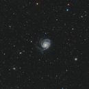 M101 Pinwheel Galaxy,                                Xiang Yu