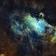 M16 Eagle Nebula in SHO,                                Frankie Lim