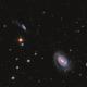 NGC 4725 & NGC 4747 in Coma I Group,                                Jarrett Trezzo