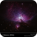 Orion Nebula, M42,                                José Miranda