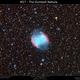 M27 - The Dumbell Nebula,                                Brice Blanc