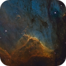 Pelican Nebula in SHO,                                Kevin Morefield