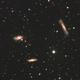 M65, M66 & NGC3628 (Leo Triplet),                                Kyle Wells