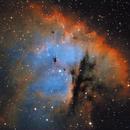 NGC281 HST,                                Darek