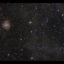 "The ""Hidden Galaxy"" IC342 and a bit of dust,                                Göran Nilsson"