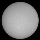 ISS Solar transit 6-6-21 Ha,                                Steve Ibbotson