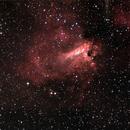 Omega Nebula - M17,                                Fabio Zucconi
