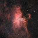 Eagle Nebula & Pillars of Creation in HaRGB,                                Orestis Pavlou
