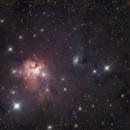 NGC 1579 in Perseus,                                Nurinniska