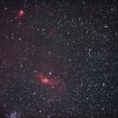 NGC 7635 The Bubble Nebula Wide Field,                                AlbertNewland