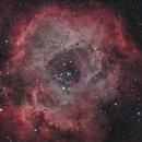 The Rosette Nebula in HaRGB,                                Trevor Jones