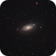Sunflower Galaxy (M63),                                Willem Jan Drijfhout