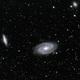 Galaxies M81 et M82,                                quigna
