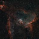 Heart Nebula, IC 1805, Sharpless 2-190,                                Jeff Kisslinger