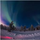 Cazando Auroras Borealis a -18ºC,                                Lluis Romero Ventura