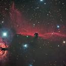 IC 434 NGC 2024 Testa di cavallo e fiamma nebula,                                angelo mazzotti