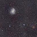 NGC6946 - The fireworks Galaxy,                                Florent Cazalaa