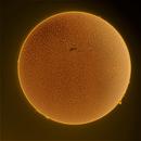 Sun in H-Alpha 2017/12/24,                                Lujafer