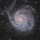 M101 @ C2PU Observatory,                                Frédéric Tapissier
