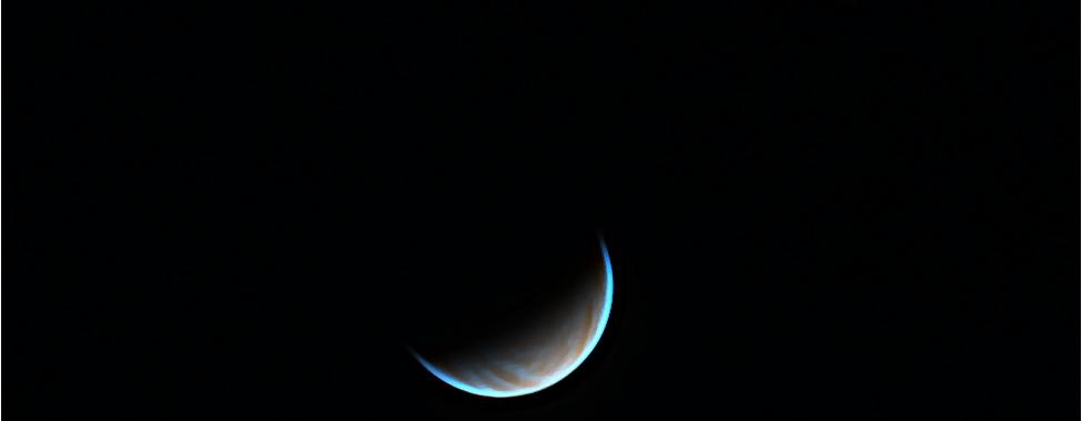 Venus false coulours (UV + IR), 17042020,                                BartM