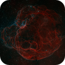 SH2-240 | The Spaghetti Nebula in Two Panels,                                Kevin Morefield