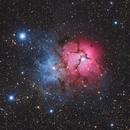 M20 Trifid Nebula,                                Lingbin Zhang