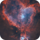 Going Deep on the Heart Nebula in HOO • IC 1805,                                Douglas J Struble