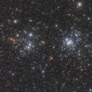 Chi+H Persei Star Cluster 2020,                                Jonas Illner