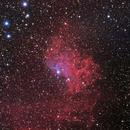 IC405 - Flaming Star Nebula,                                Fabio Crudele Photography